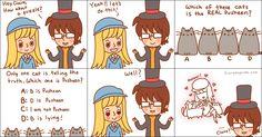 professor layton + cute = glee.