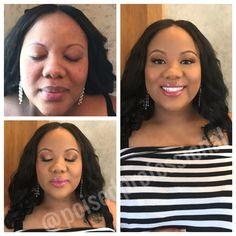 Baby Shower Ready!! Before and After of the beautiful mother-to-be!! Bridal Makeup, Natural Makeup, Natural Look Makeup, Makeup for Brown Eyes, Make for Black Women, Wedding Makeup, Makeup Tips, Makeup Ideas, Makeup Looks, Bridal Makeup Ideas, Black Women Makeup Tips, Instagram, Pinterest, Facebook, social media, beauty blogger