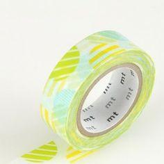 Japanese Washi Tape – Arch Green. Get it here: http://washikawaii.com/shop/japanese-washi-masking-tape-arch-green/