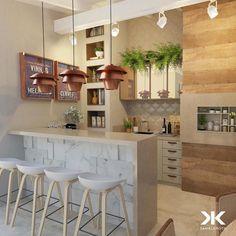 E este espaco gourmet?! Bem a nossa cara neh?! Amei! Inspiração via @decoreseuestilo Projeto Daniel Kroth Face: /homeidea Pinterest: Home Idea #homeidea #arquitetura #ambiente #espacogourmet #iluminacao #projeto #homestyle #home #homedecor #pontodecor #homedesign #photooftheday #interiordesign #interiores #picoftheday #decoration #revestimento #decoracao #architecture #archdaily #inspiration #project #regram #home #casa #grupodecordigital