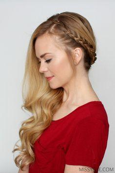 braids hairstyle diy