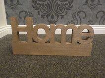 """Wunschschriftzug """"Home"""""""