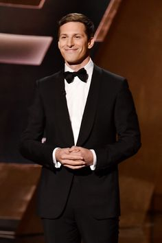 Pin for Later: 10 Andy Samberg Quotes From the Emmys That Will Make You Laugh Out Loud