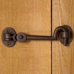 Solid Bronze Cabin Door Hook Latch - Hardware