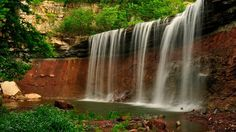 Kansas is not only home to the Flint Hills, but to these amazing hidden waterfalls as well!
