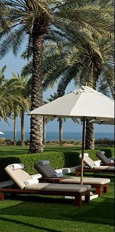 The #Chedi_Muscat_Hotel - #Muscat - #Oman http://en.directrooms.com/hotels/info/3-40-244-5567/