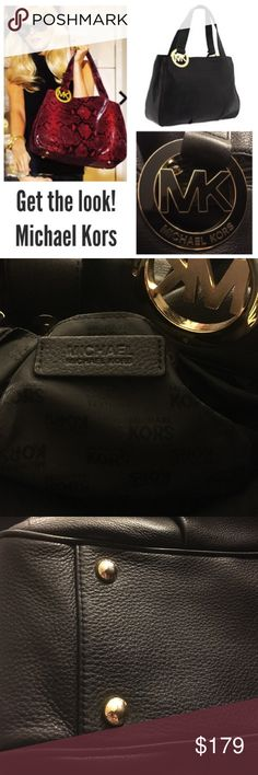 OFFER ME ❤️Michael Kors fulton east west large Michael Kors fulton east west black purse large. Authentic New condition. Cross posted. Make me an offer Michael Kors Bags