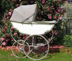 Prams Perfect Prams was devised to identify and list vintage prams used over the past 120 years. Please go to the Albums page to discover the make and possibly the model of your coachbuilt pram. Vintage Pram, Brides Basket, Prams And Pushchairs, Baby Buggy, Dolls Prams, Miscellaneous Things, Baby Prams, Baby Carriage, Vintage Advertisements