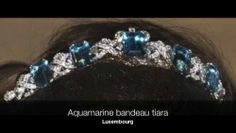 Luxembourg bandeau - See Tiara-Luxembourg Aquamarine for more images