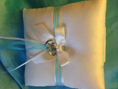 Customized ring bearer pillow