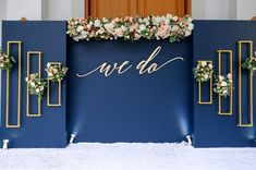 We Do Wood Sign || Wedding Backdrop Wedding Bar Sign Large Bar Sign Bridal Shower Mimosa Bar Champagne Bar Engagement Party Decor by 1801andco