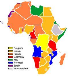 European Influence Map
