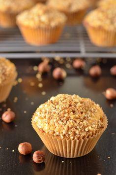 Whole Wheat Butternut Squash, Apple and Hazelnut Muffins from Coffee & Quinoa @Erica {Coffee & Quinoa}
