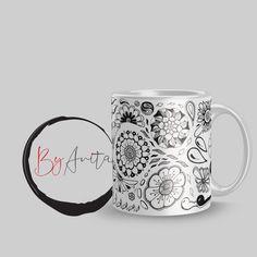 Edina bögréje  #zen #zentangle #zenfirka #virágok #flowers #mintarajzolás #doodle Doodle Art, Mugs, Zentangle, Tableware, Doodles, Flowers, Dinnerware, Zentangle Patterns, Tumblers