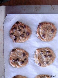 coconut flour cookie chocolate chip banana cookie