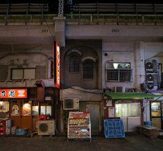 夜散歩のススメ「五條町橋高架橋」東京都台東区 Daito-ku, Tokyo - night life