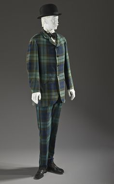 England, Man's Two-piece Lounge Suit, 1875-1880, Purchased with funds provided by Michael and Ellen Michelson (M.2010.33.9a-b)