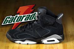 9350e592e249cd Air Jordan 6 Gatorade Sneaker Bar