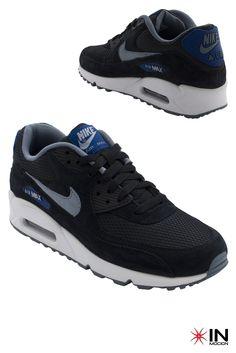 #Nike Air Max 90  Essential Tamanhos: 39 a 45  #Sneakers mais informações: http://www.inmocion.net/Nike-Air-Max-90--Essential-537384--246-pt?utm_source=pinterest&utm_medium=537384.-246_Nike_p&utm_campaign=Nike