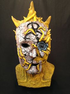 KING in YELLOW latex mask by CreatureRevenge on Etsy