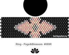 peyote ring patternPDF-Download 155R beading pattern