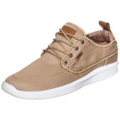 #VANS #Herren #Brigata #Lite #Sneaker #Herren #braun Beim Design des Brigata Lite ließ sich Vans vom klassischen Bootsschuh inspirieren. Das gelungene Ergebnis ist ein leichter Sneaker für entspannten Tragekomfort in deiner Freizeit. Dank der innovativen Ultracush Lite-Technologie überzeugt der Schuh mit angenehmer Dämpfung und bewegungsfreundlicher Flexibilität. Die Actionfit-Leistenform garantiert ein Höchstmaß an Komfort. Strapazierfähiges Obermaterial und der modische Leder-Einsatz an…