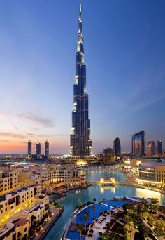 Tallest building in the world - Burj Khalifa, Dubai. Recently spent 4 nights in Dubai and I loved it.