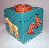 Artsonia Art Exhibit :: Ceramic Theme Box Containers