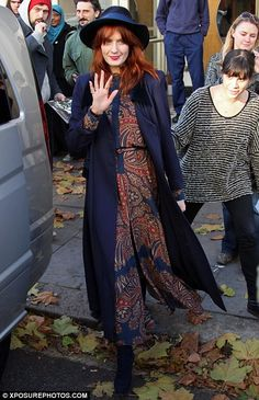 Loving Florence Welch's Vilshenko dress