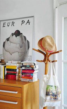 Eklektyczne mieszkanie Moniki na Starej Ochocie - pomysłowo urządzone