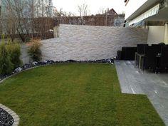 Trockenmauer und L-Steine | Haus und Gartengestaltung | Pinterest ...