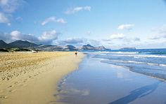 Porto Santo's popularity lies in its six-mile swathe of impeccably soft sand
