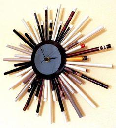 Custom Paper Starburst Clocks by Shannybeebo | Hatch.co