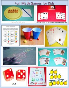 Learning Ideas - Grades K-8: Ten Fun Math Games for Kids