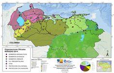 Localización nacional de organizaciones de atencion de emergencias y desastres en Venezuela, 2015
