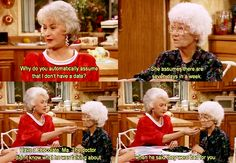 The Golden Girls On one of the 1st shows when Dorothy put her hand over her Ma's mouth she said it wasn't in the script. She just did it