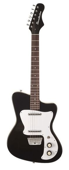 Danelectro D67HH-BLK 67 Heaven Hawk - Electric Guitar  > Black  <  #danelectro #garagebandmusic #tone #ownthetone