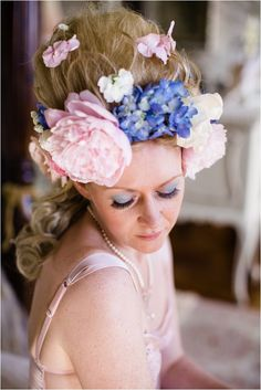 Marie Antoinette inspired hair and make up | Hair: Victoria Farr, Photography: The Sweet Reveal