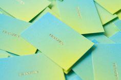 corporate identity and stationary for (the Berlin based fashion label) Franzius byStudio Hausherr