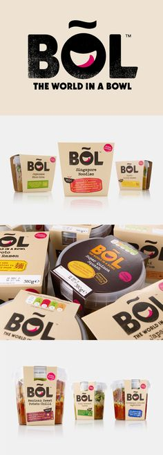 BOL is a range of vegetable pots made from fresh natural ingredients using recipes inspired by local chefs and street market stalls from a variety of international destinations, packed and presented with a modern on-the-go convenience in mind.