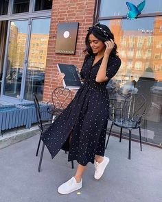 Fashion trends  <br> Summer Dress Outfits, Spring Outfits, Casual Dresses, Summer Fashion Modest, Church Outfit Summer, Summer Dress Modest, Midi Dresses, Modest Dresses, Skirt Outfits