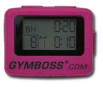 Gymboss Interval timer for bodyrock.tv workouts or running intervals or #crossfit stuff