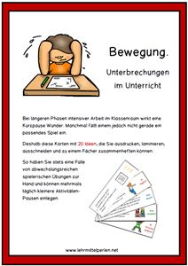 Education 774548835883386398 - Bewegungsspiele im Unterricht Mehr Source by nicolewirkus Classroom Games, School Classroom, Classroom Management, Elementary Education, Art Education, German Language, Primary School, Kindergarten, High School