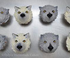 Wolf cupcakes