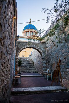 Agios Nikolaos church in Syros Island, Cyclathes - Greece Paros, Syros Greece, Places To Travel, Places To Go, Myconos, Greek Blue, Places In Greece, Holiday Places, World Photography