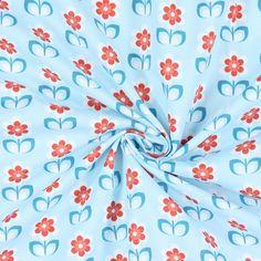 Cotton Whoopsy Daisy 3 - Baumwolle - hellblau