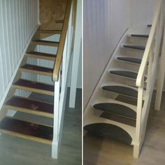 """Step by step"" stairwell improvment ! http://mariamalm.blogg.no/1477482736_trappeprosjekt.html"