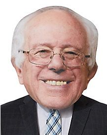 Feel the Bern without having to do your hair or wear glasses with this awesome and oversized Bernie Sanders mask!