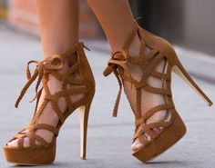Super-Sexy Woven 'Yadaria' Heels for Day or Night