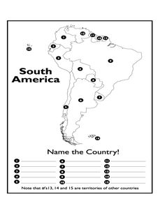 Page 1 - South America Map Test.docx